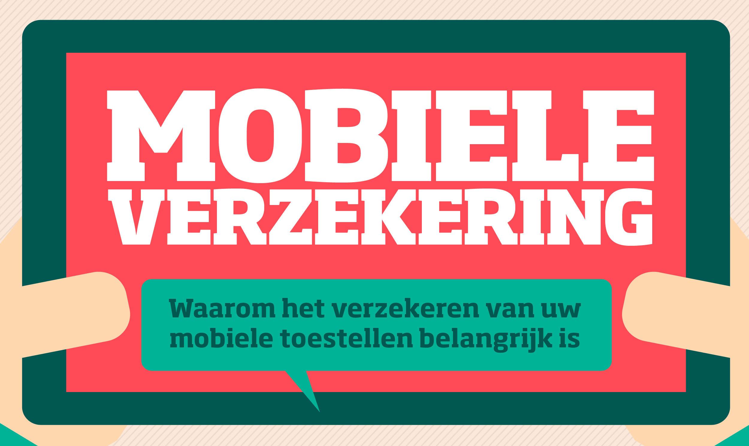 Infographic Mobiele verzekeringen, ja of nee?