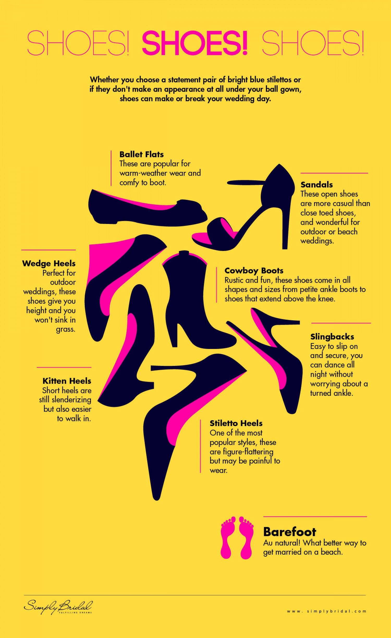 Infographic Schoenen schoenen schoenen