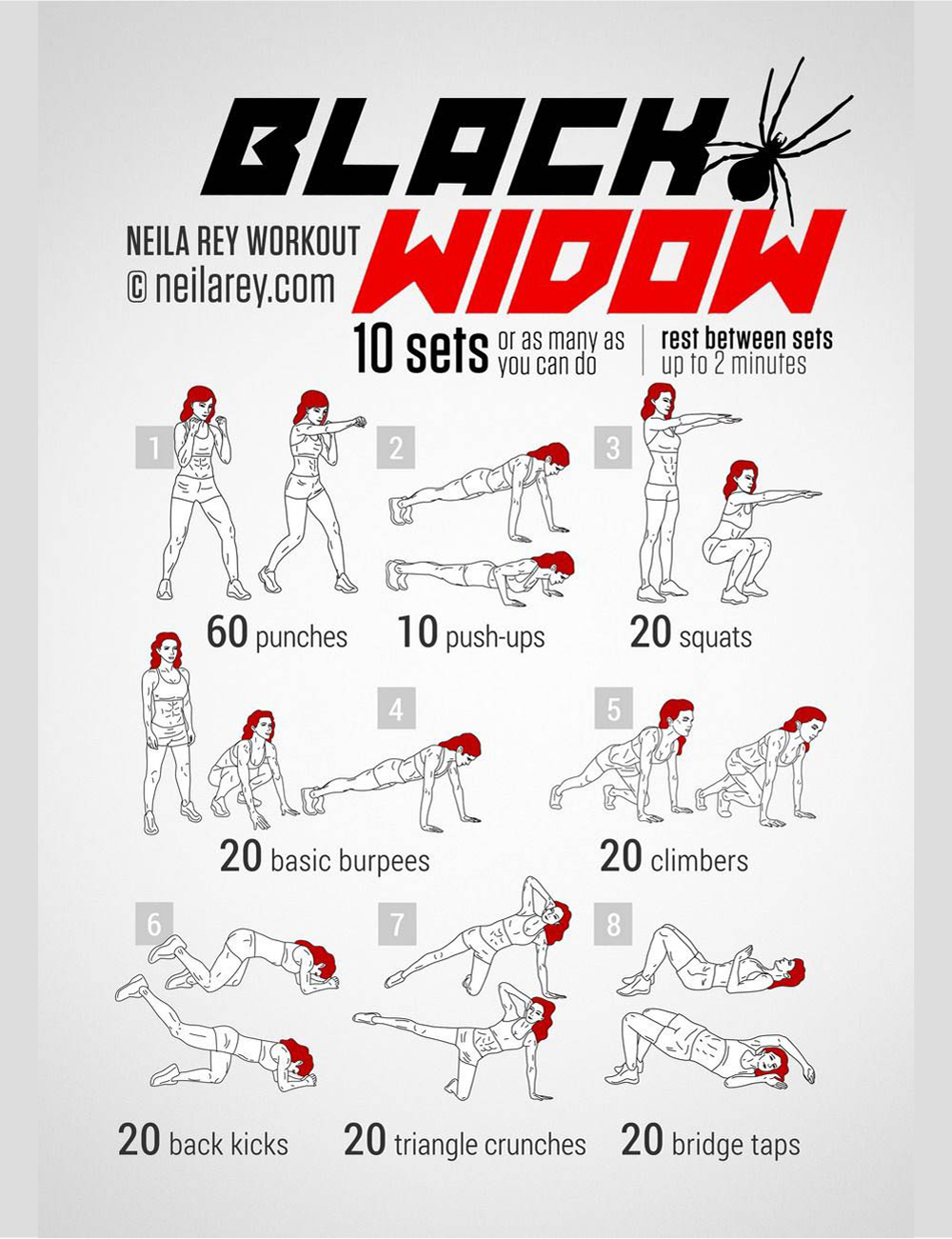 Superhelden workouts