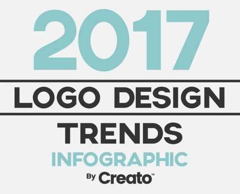 Thumbnail ontwerp stijles 2017 infographic