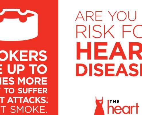 Infographic over risico hartziektes en hoe te voorkomen