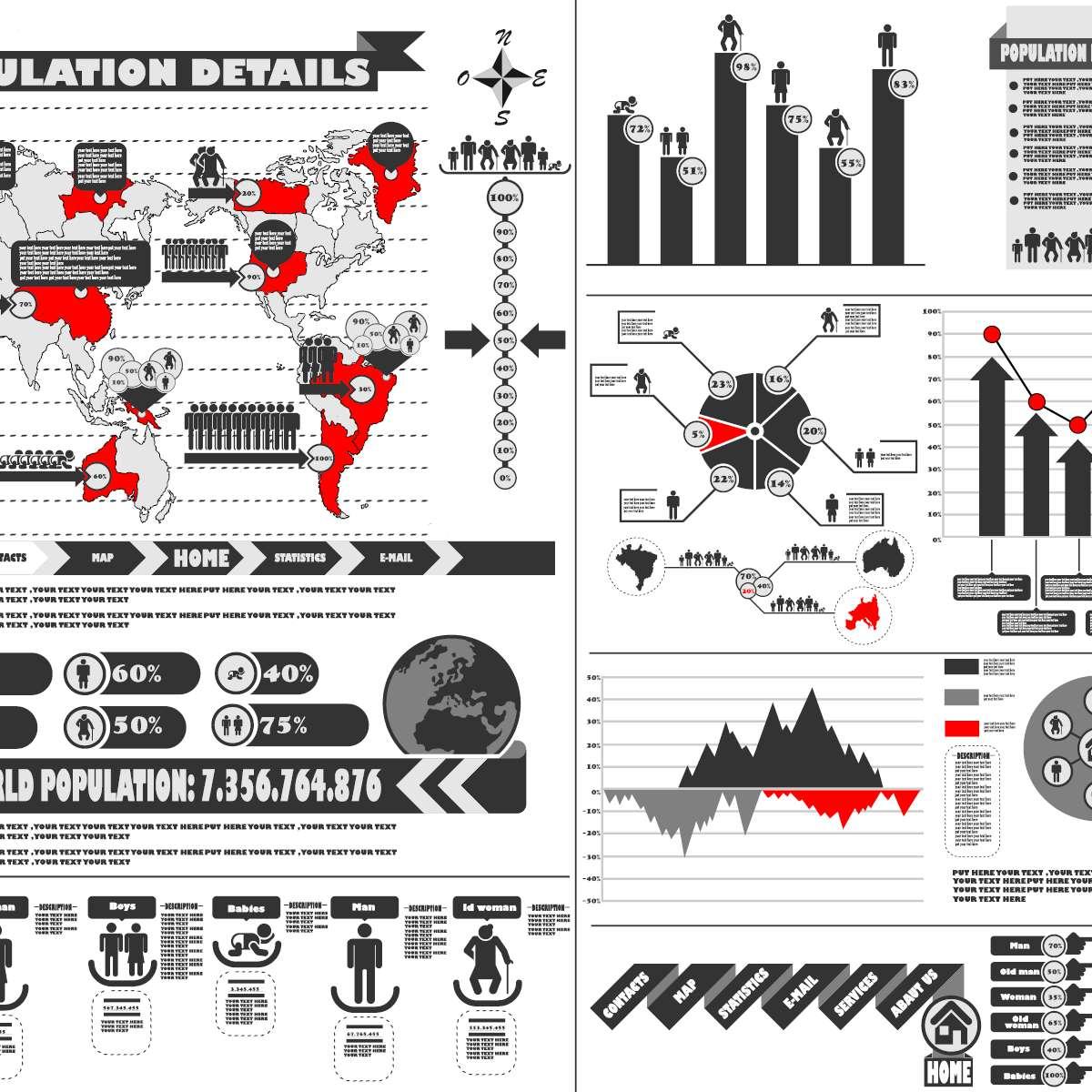 Infographic ontwerpen