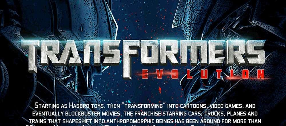 transformers evolutie infographic