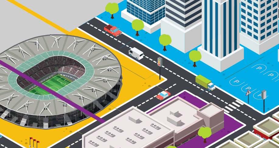 Een thumbnail van een infographic over staal in de stad.