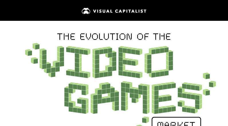 infographic over videogames
