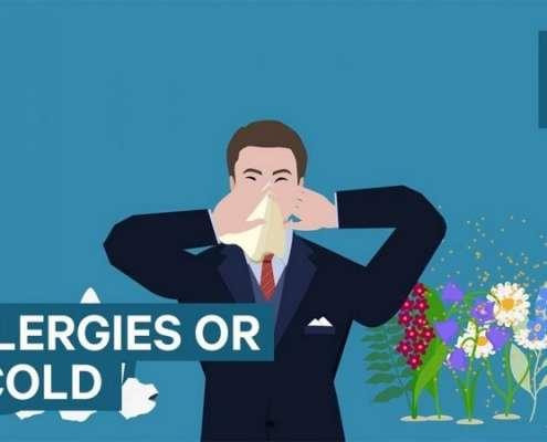 Infographic over hoe je er achter kunt komen of je ziek bent of