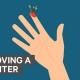 Infographic thumbnail het verwijderen van een splinter