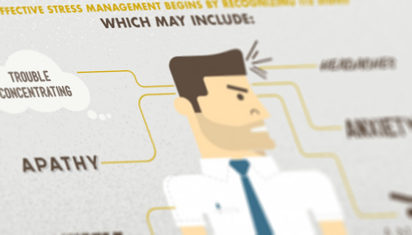 Praktische tips om je werknemers minder stress te bezorgen