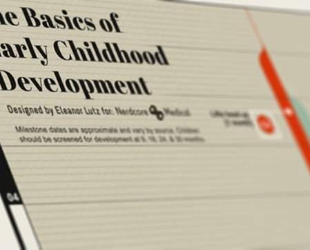 de basis van de vroege ontwikkeling van een kind