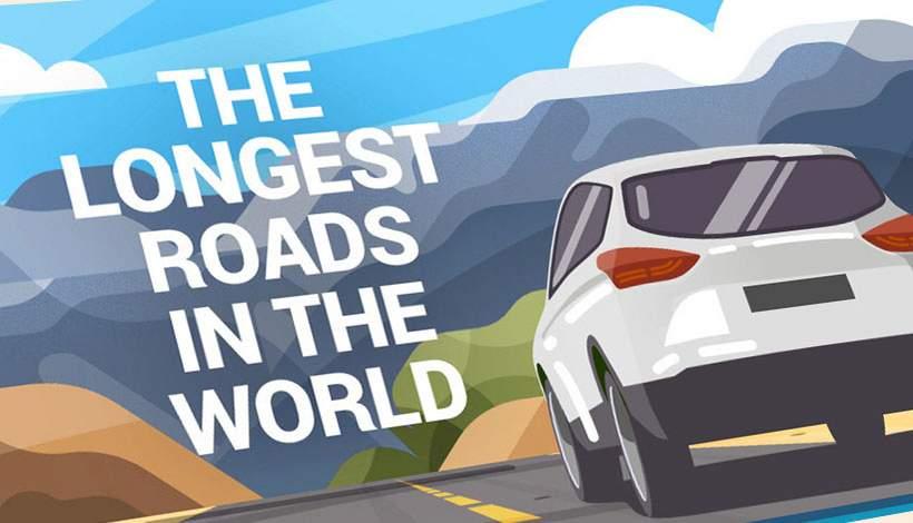de langste wegen in de wereld