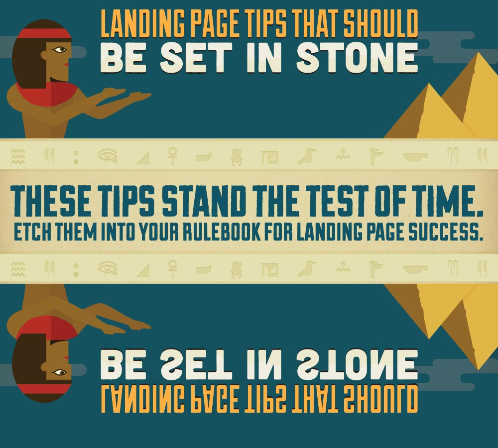 Infographic praktische tips bestemmingspagina's